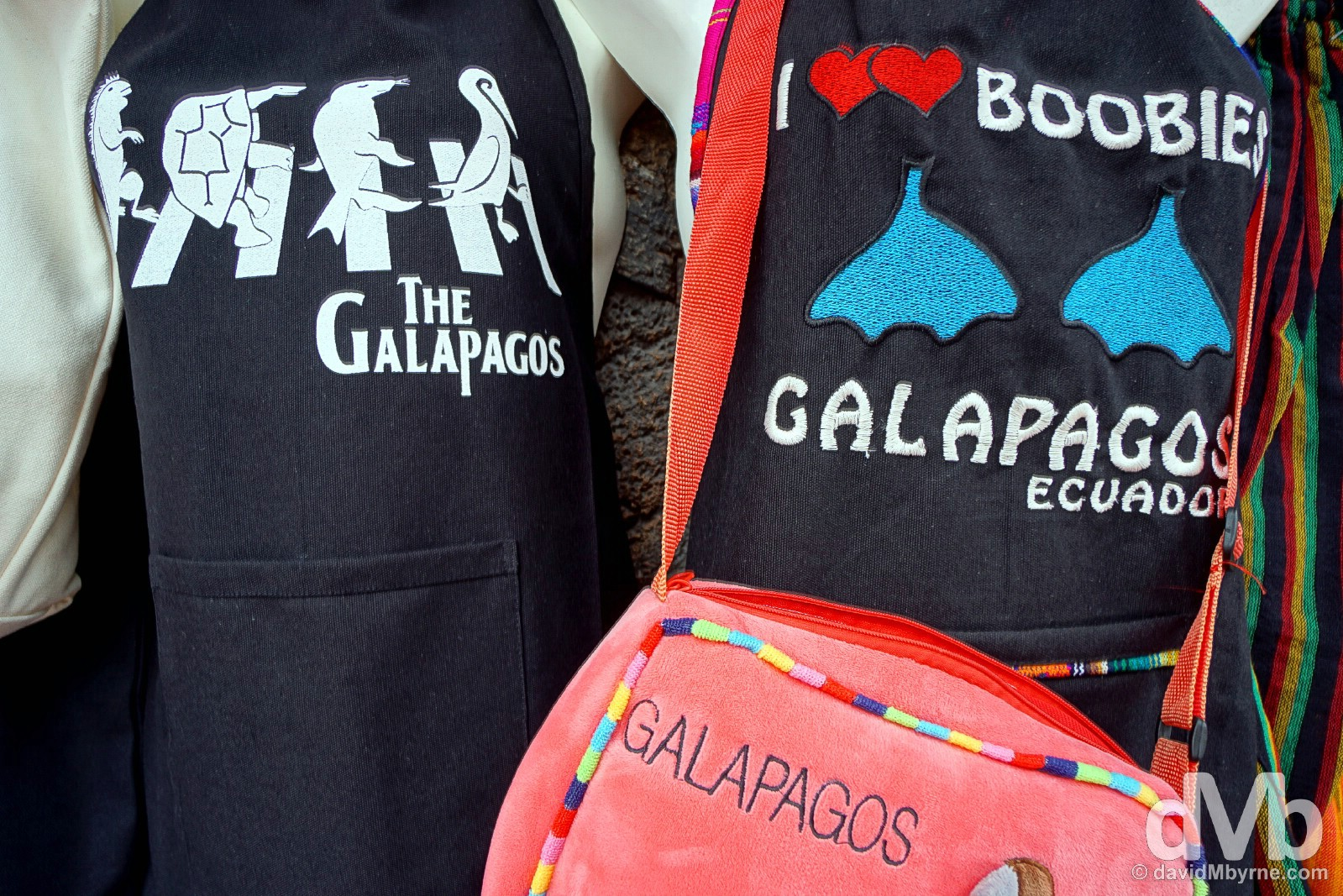 For sale in Puerto Ayora on Isla Santa Cruz, Galapagos, Ecuador. July 16, 2015.