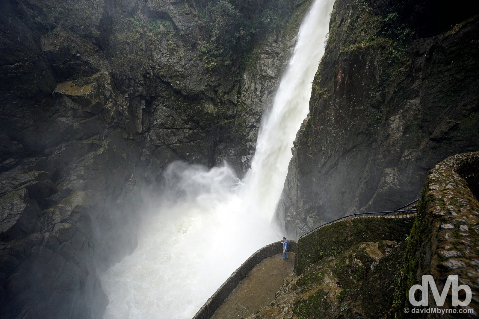 Pailon del Diablo (Devil's Cauldron), Pastaza Valley, Ecuador. July 9, 2015.