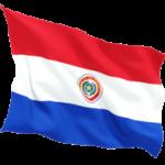 paraguay_fluttering_flag_256