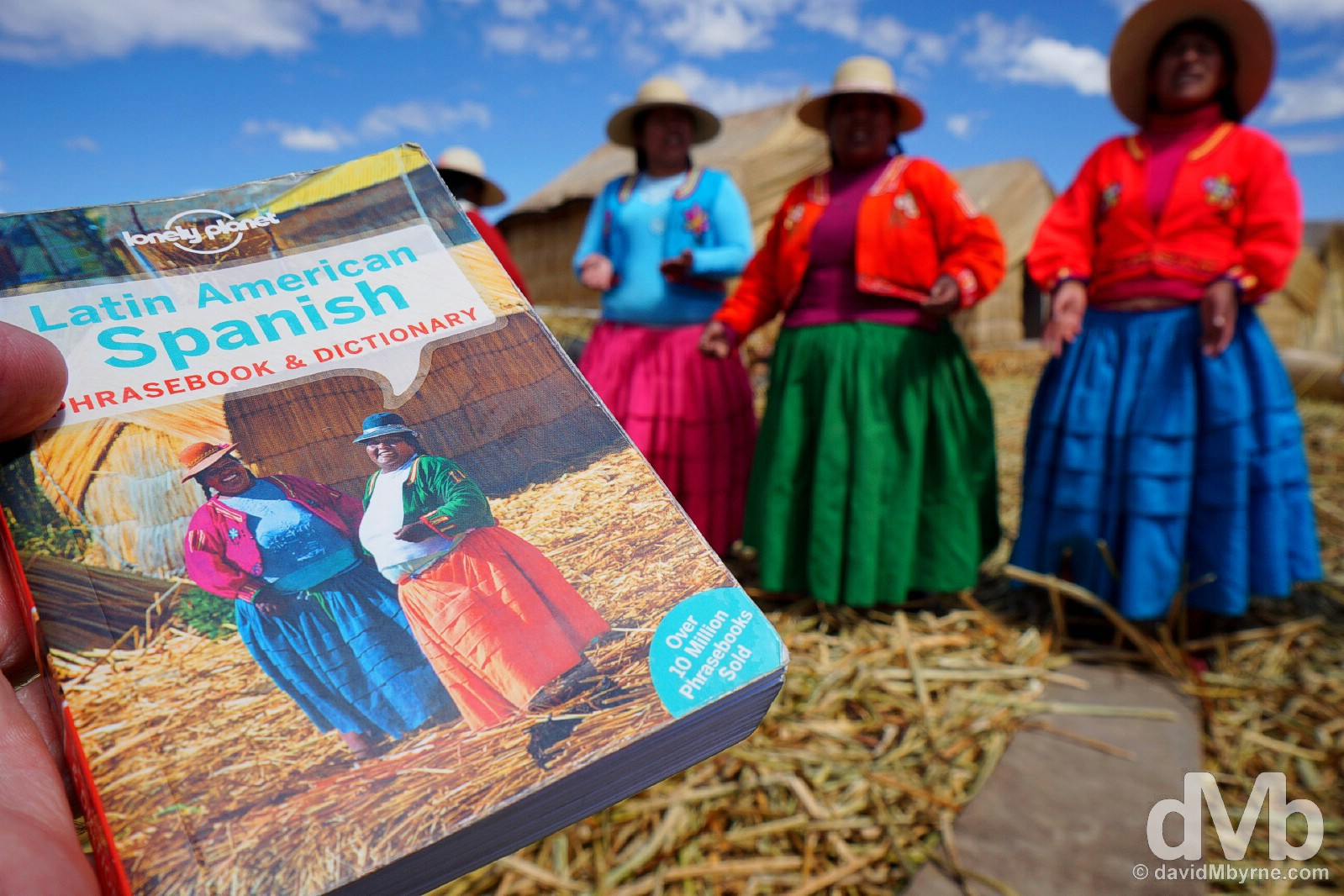 Looks familiar. Uros Islands, Lake Titicaca, Peru. August 19, 2015.