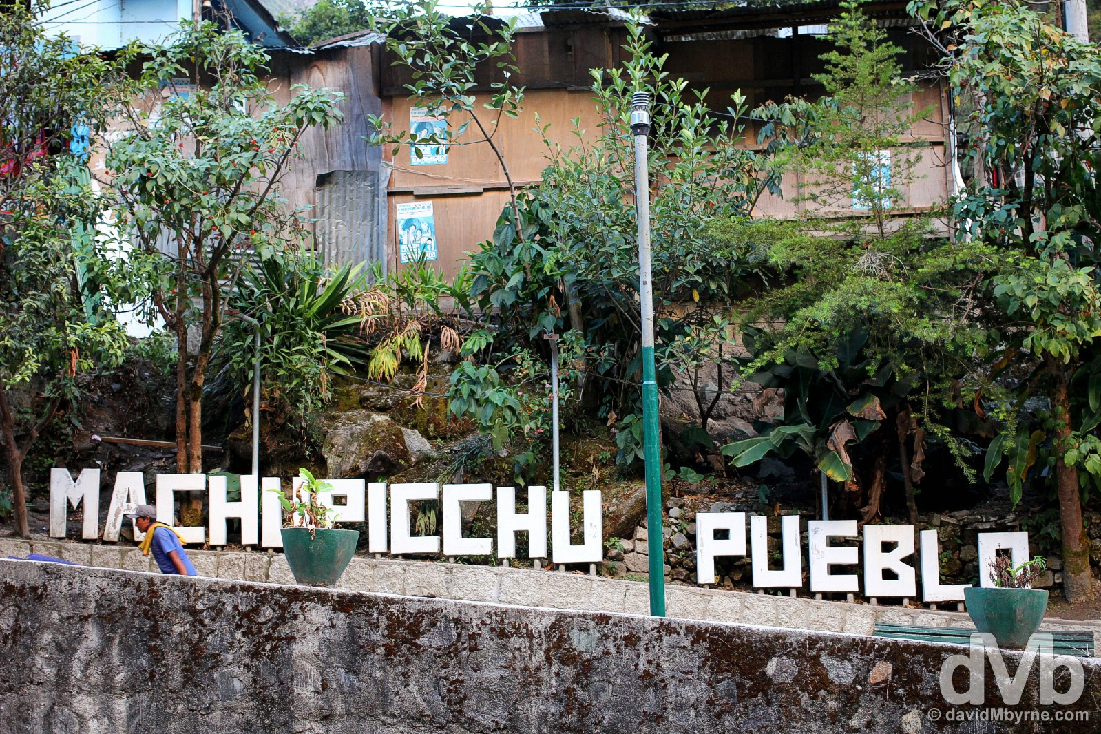 Machu Picchu Peublo/Aguas Calientes, Peru. August 14, 2015.