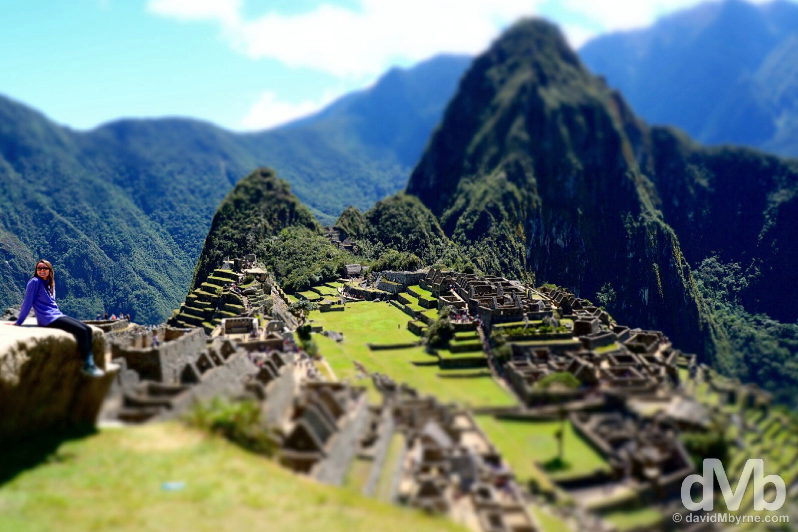 Machu Picchu, Peru. August 15, 2015.