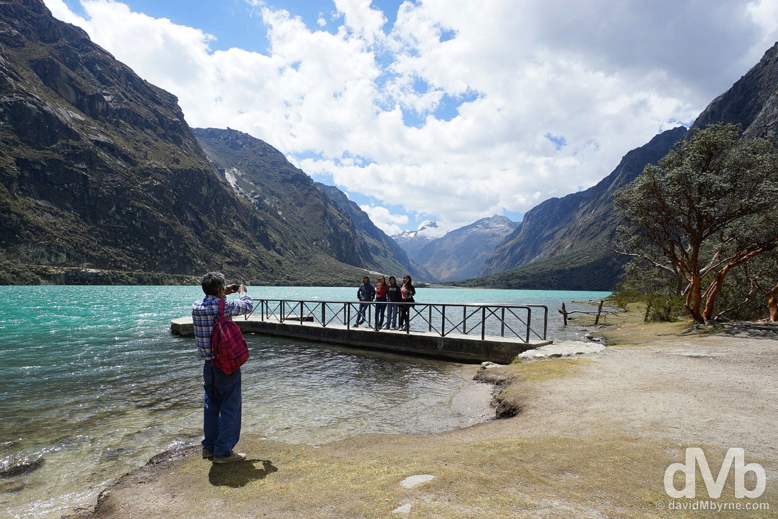 Pictures at Lago (Lake) Chinan Cocha in Parque Nacional Huascaran, Ancash, Peru. August 5, 2015.
