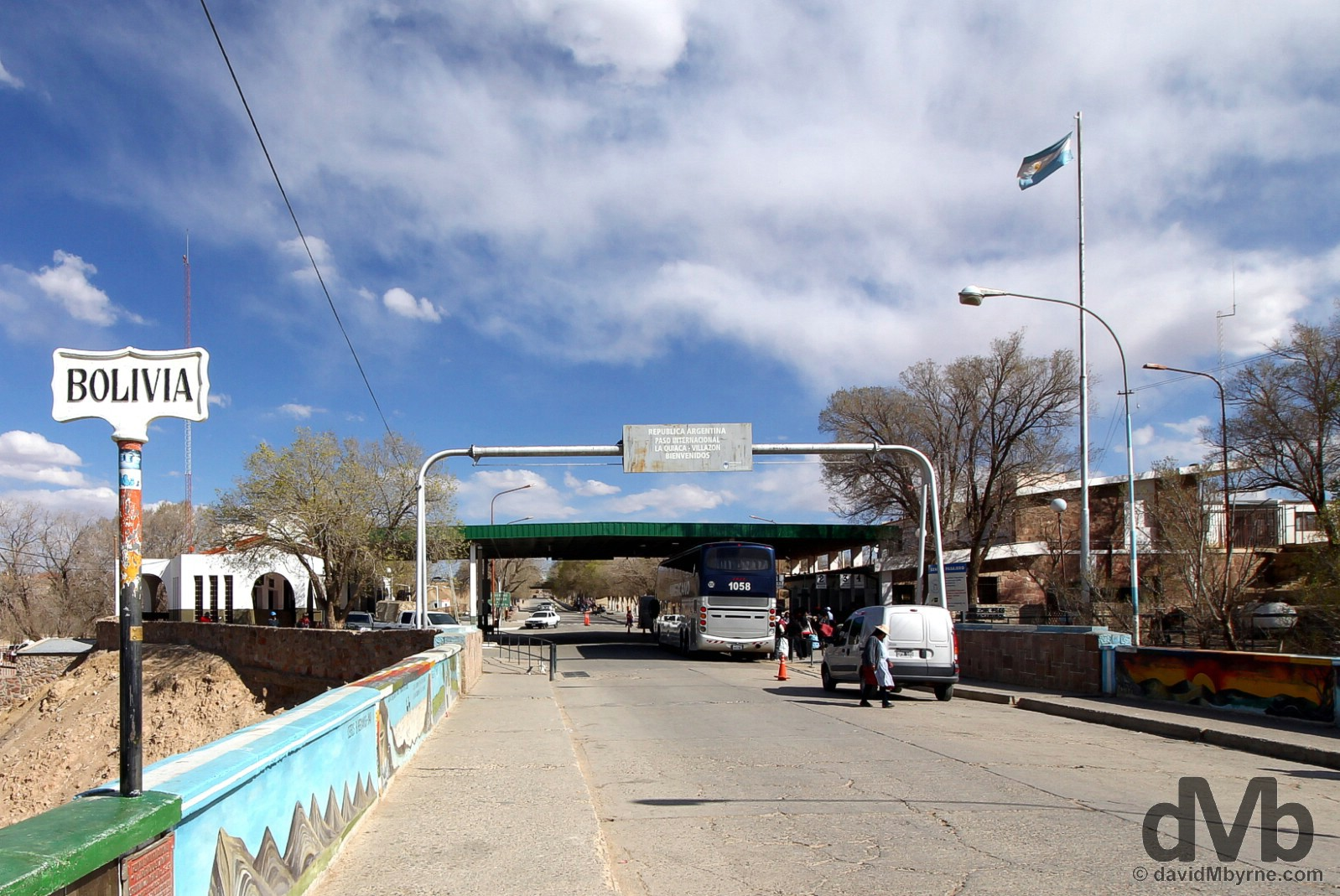 Crossing into Argentina from the Bolivian town of Villazon. September 4, 2015.