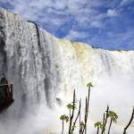 Iguazu Falls in Parque Nacional Do Iguacu, Brazil. September 12, 2015.