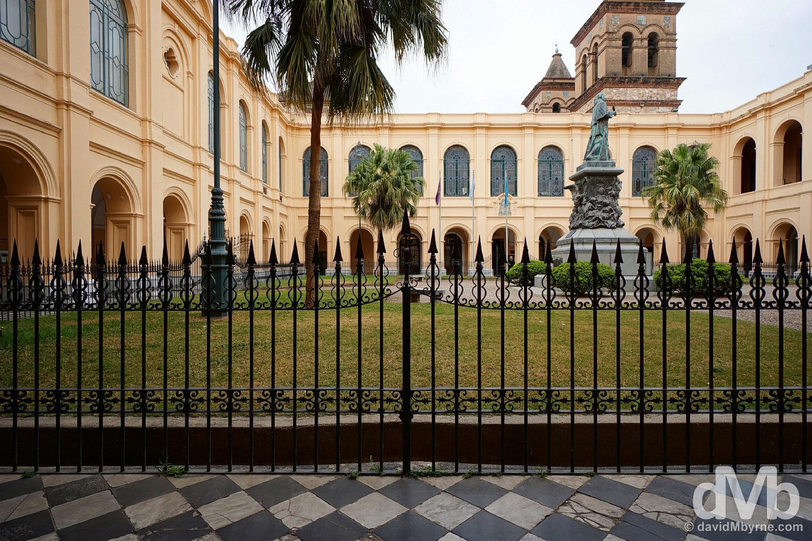 Manzana Jesuitica in Cordoba, Argentina. September 23, 2015.