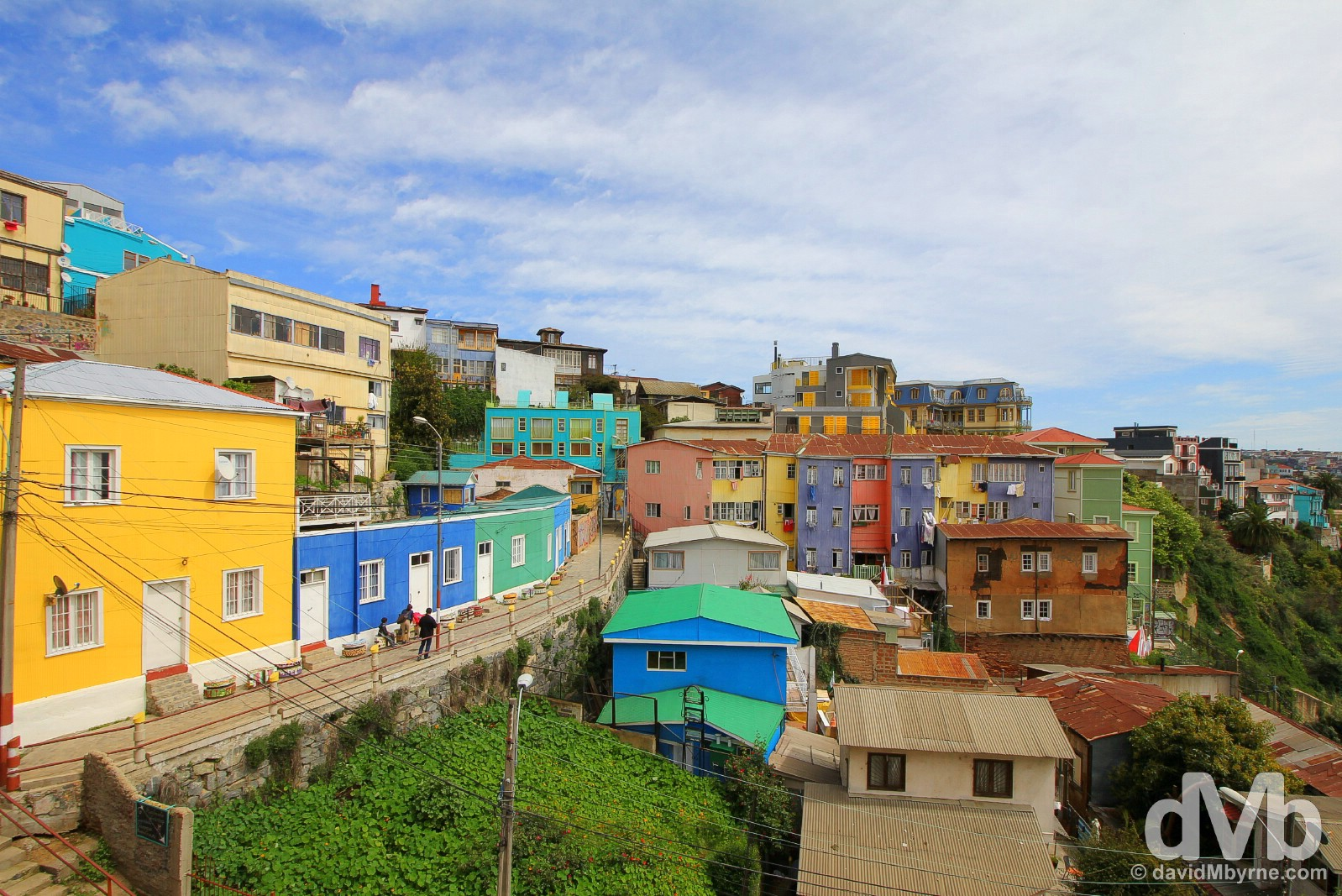 Bellavista, Valparaiso, Chile. October 8, 2015.