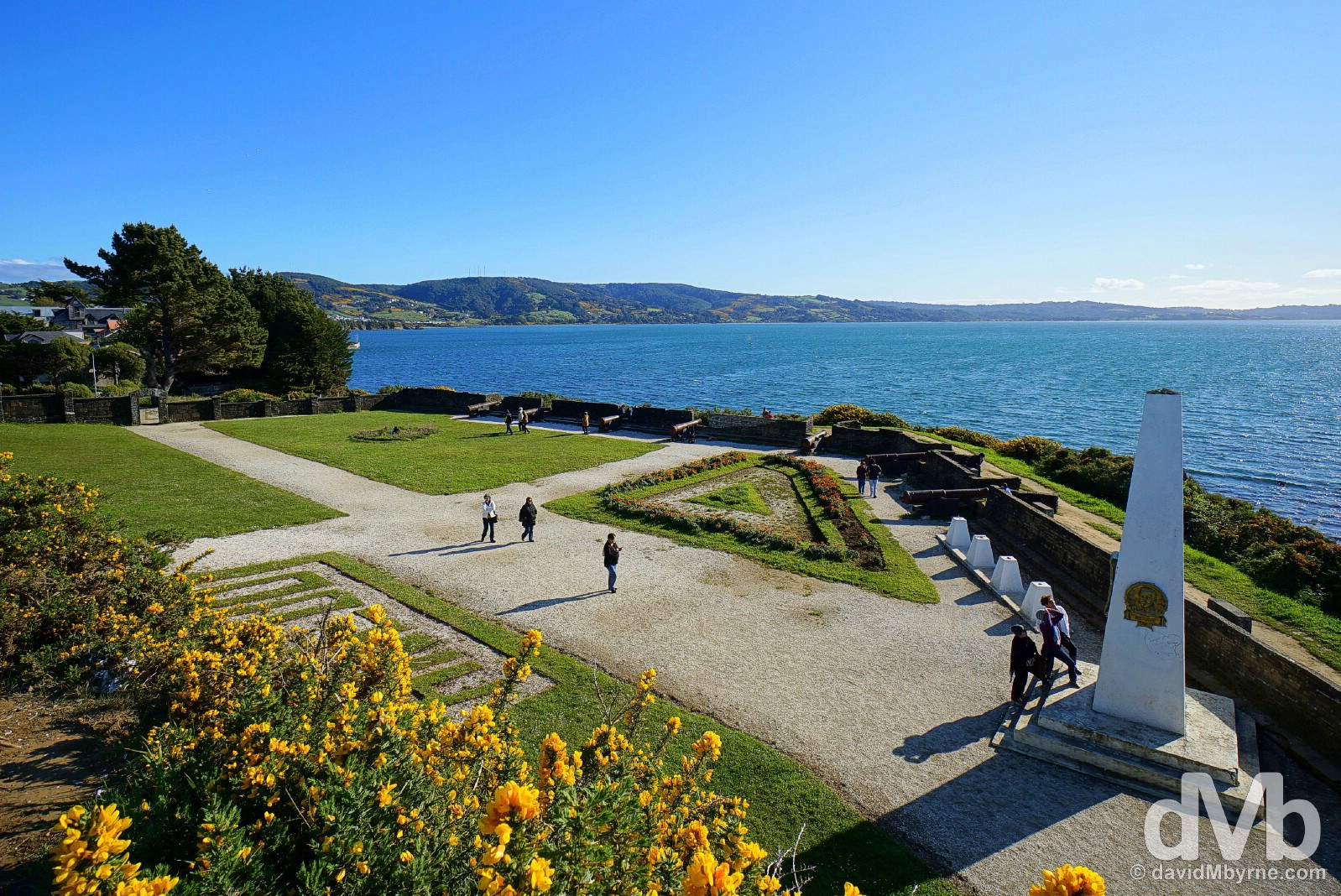 Fuerte de San Antonio in Ancud, Chiloe, Chile. October 21, 2015.