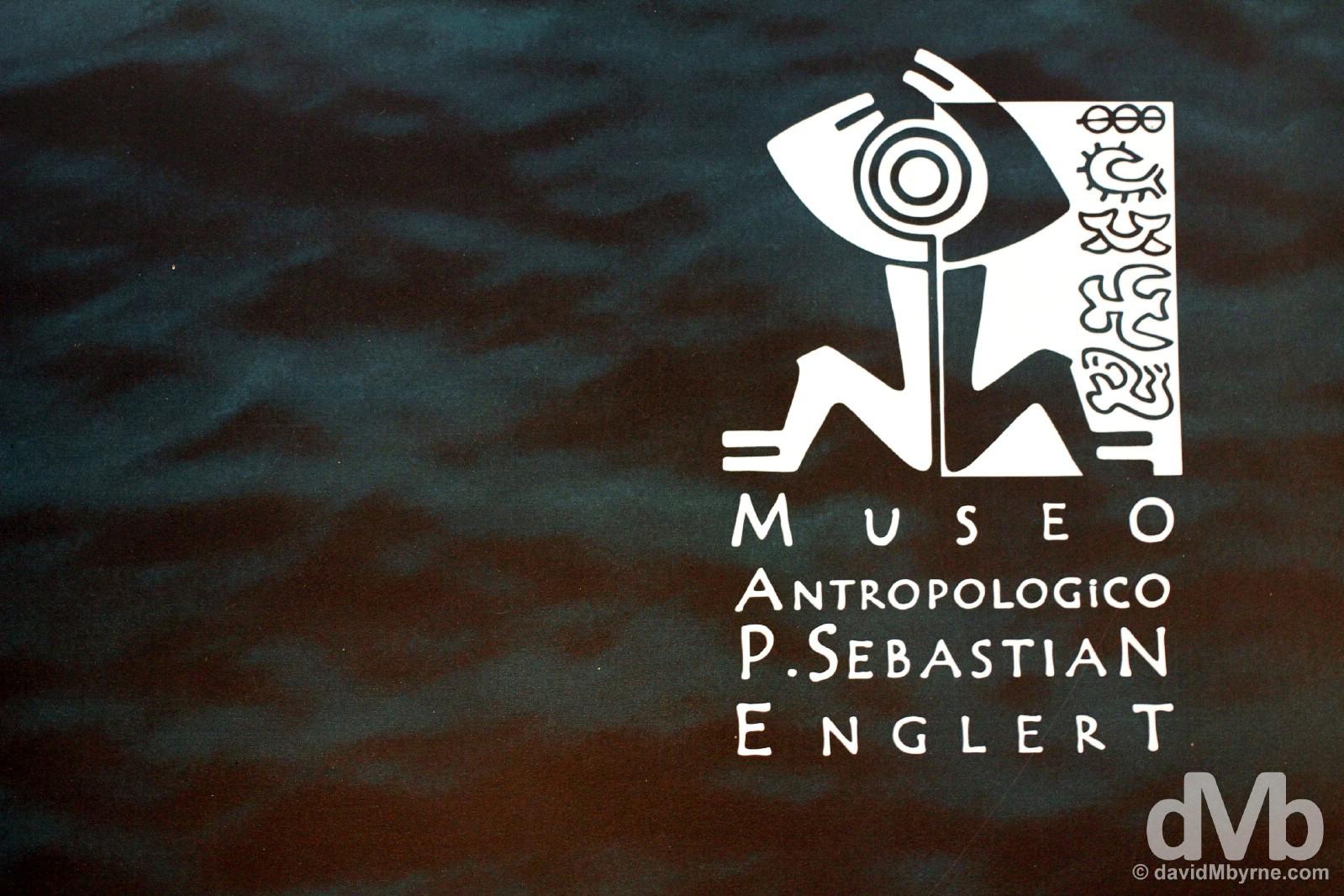 Museo Antropologico P. Sebastian Englert, Hanga Roa, Easter Island, Chile. September 30, 2015.