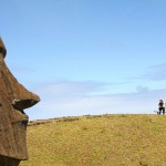 Rano Raraku, Easter Island, Chile. October 1, 2015.