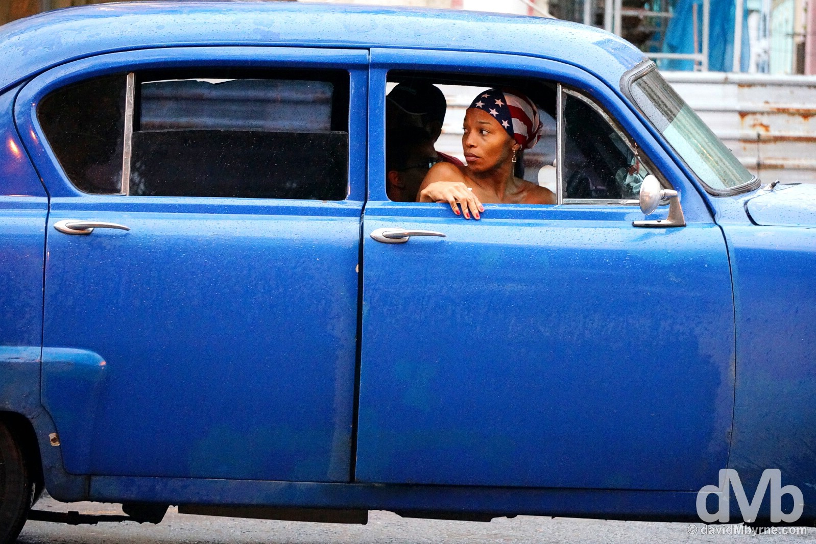 On the streets of Havana, Cuba. April 30, 2015.