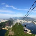 Rio de Janeiro as seen from atop Sugarloaf Mountan. Rio de Janeiro, Brazil. December 12, 2015.