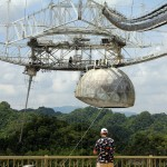 At the Arecibo Observatory, Arecibo, Puerto Rico, Greater Antilles. June 4, 2015.