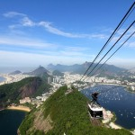 The stunning city of Rio de Janeiro, Brazil, as seen from the city's Sugarloaf Mountain. December 12, 2015.