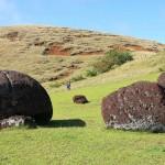 Puna Pau, Easter Island, Chile. October 1, 2015.
