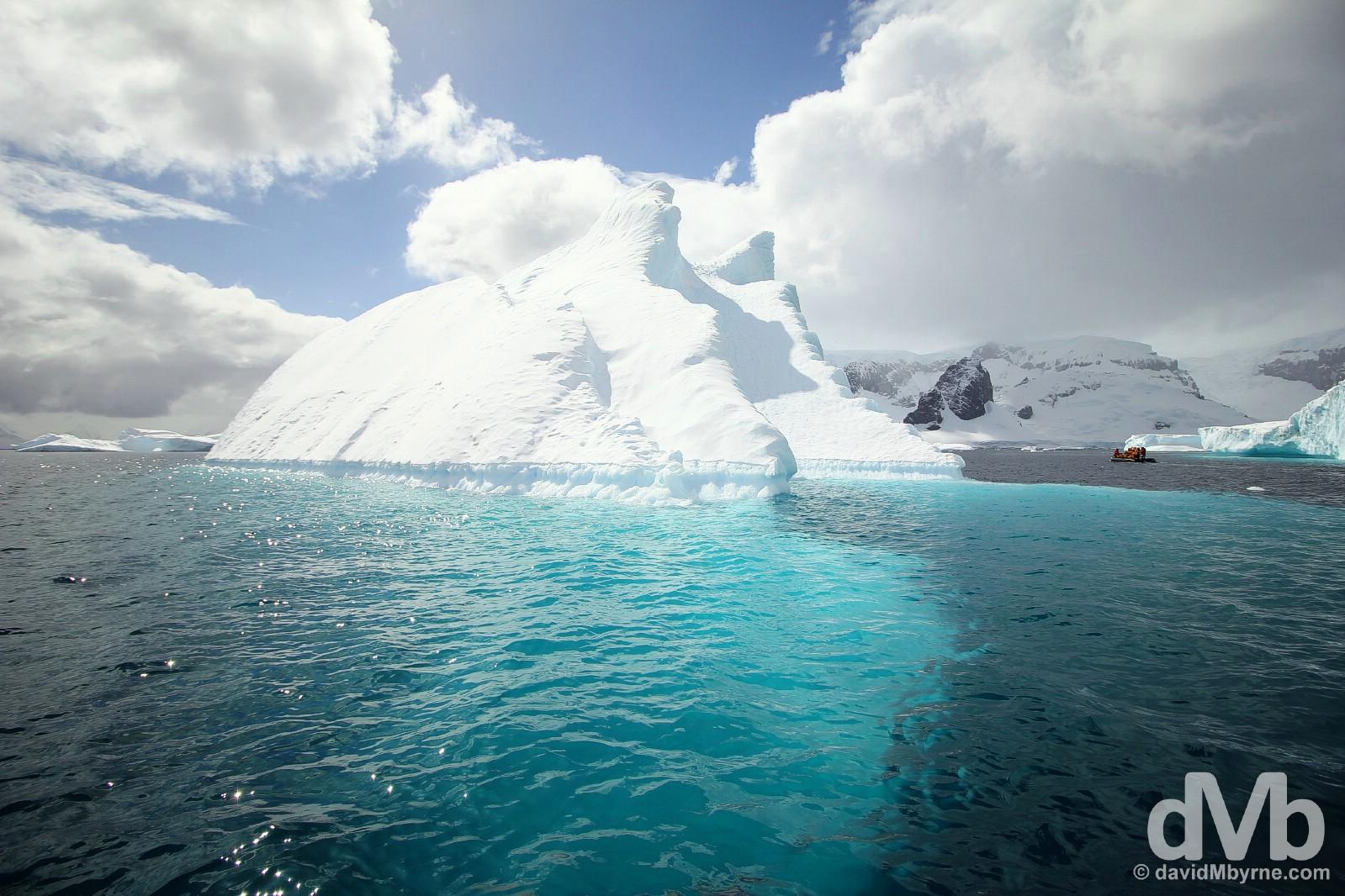 Cruising of Cuverville Island, Antarctic Peninsula. December 1, 2015.