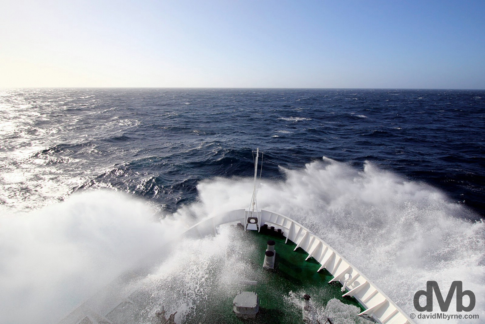 Northbound on the Drake Passage. December 3, 2015.