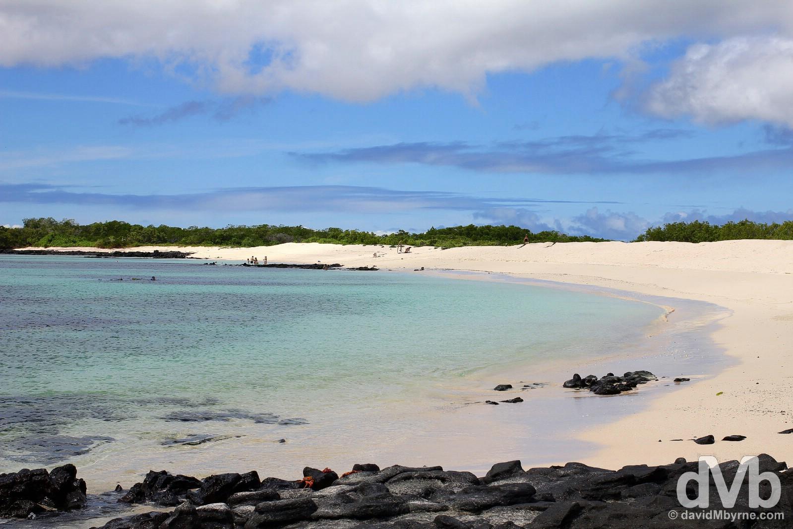 Playa Las Bachas, Isla Santa Cruz, Galapagos Islands, Ecuador. July 18, 2015.