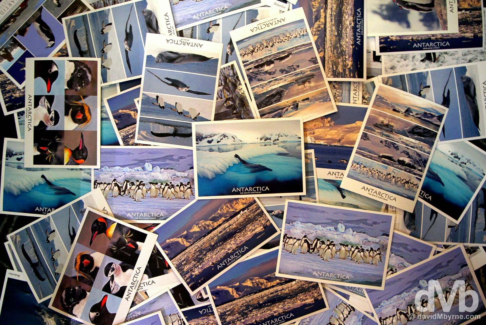 #PostcardFromAntarctica pile.