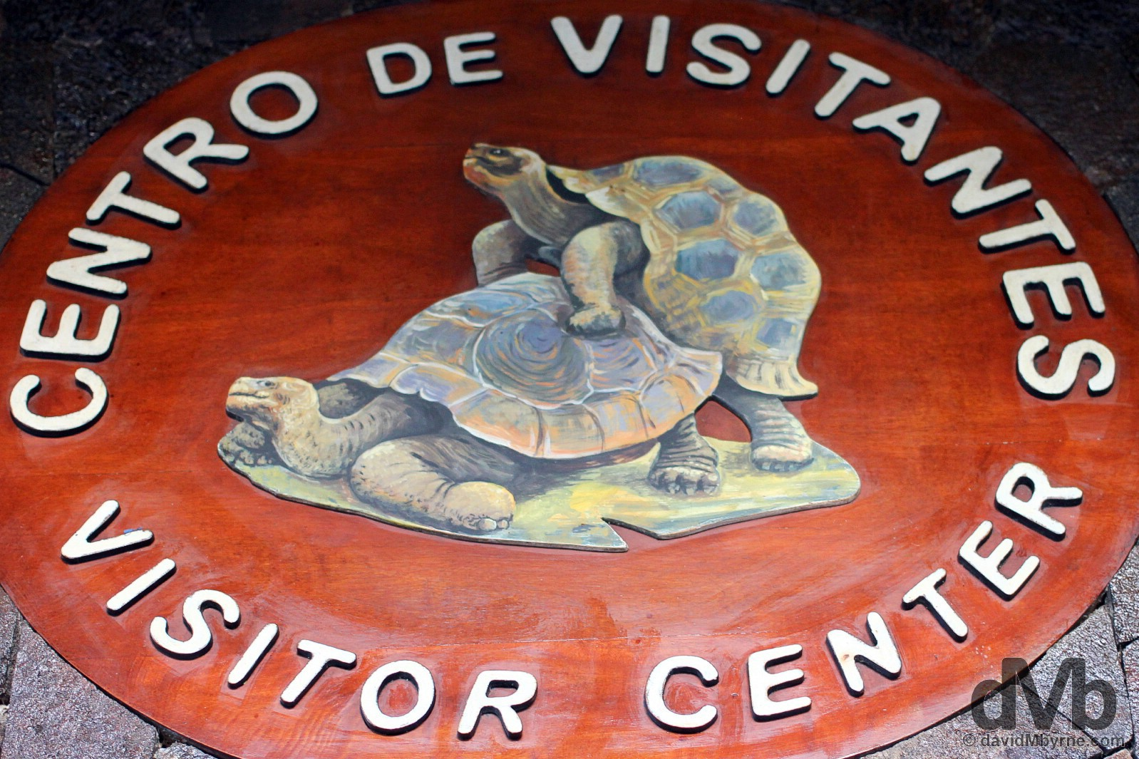 Visitor Center of the Tortoise Breeding Centre on Isla Isabela, Galapagos, Ecuador. July 19, 2015.