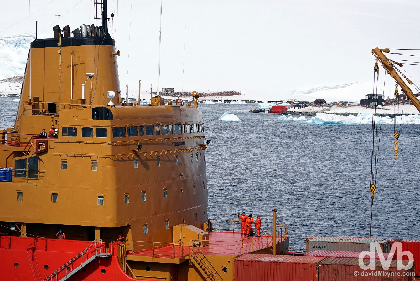 Paradise Bay, Antarctica. December 1, 2015.