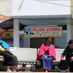 Avenida 5 de Junio, Alausi, Ecuador. July 14, 2015.
