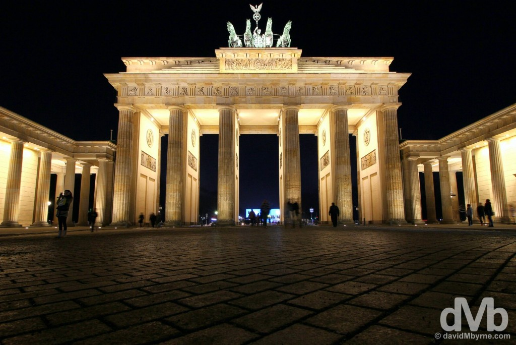 Brandenburger Tor (Brandenberg Gate), Berlin, Germany. January 21, 2016.