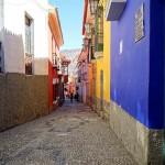 Calle Apolinar Jaen, La Paz, Bolivia. August 26, 2015.