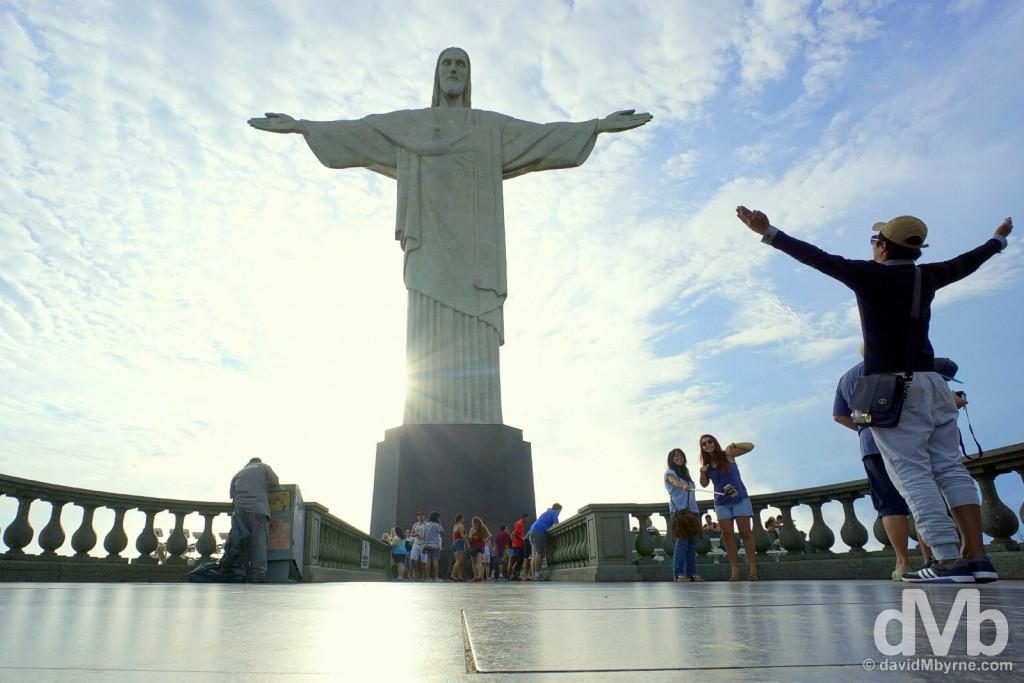 Christ the Redeemer, Rio de Janeiro. December 12, 2015.