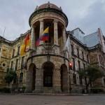 City Hall in Cuenca, Ecuador. July 26, 2015.