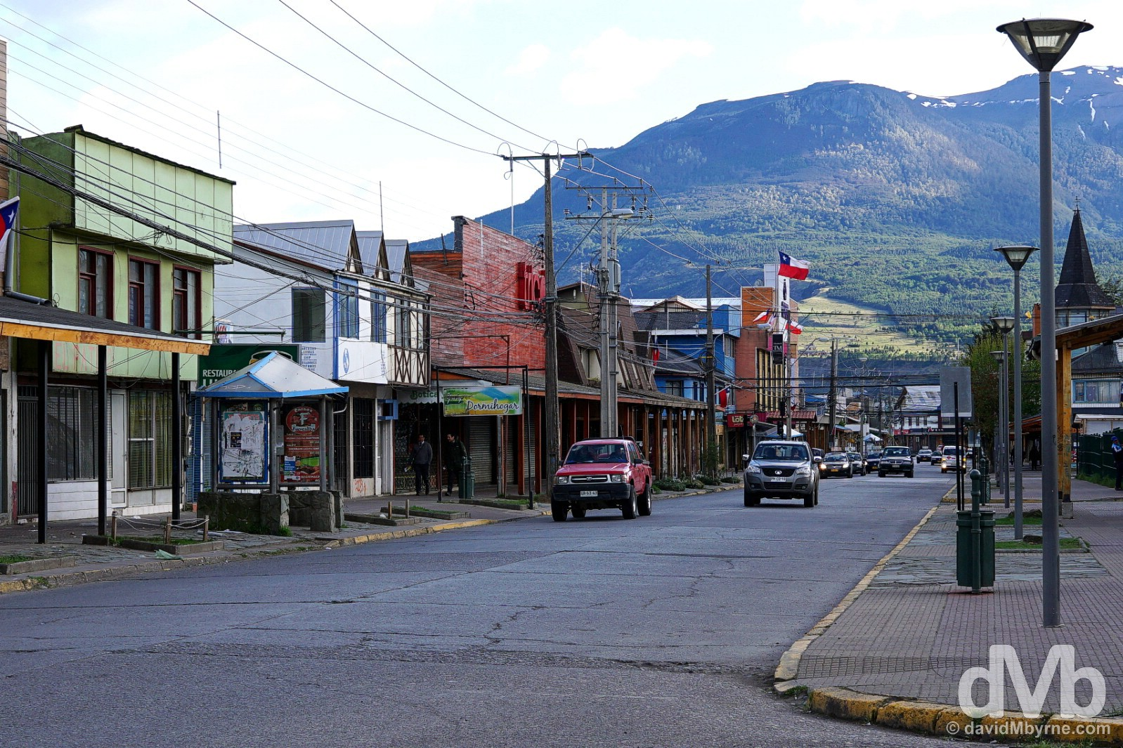 Cochrane, Aysen, Chile. October 27, 2015.