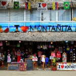 I Love Montanita, Ecuador. July 23, 2015.