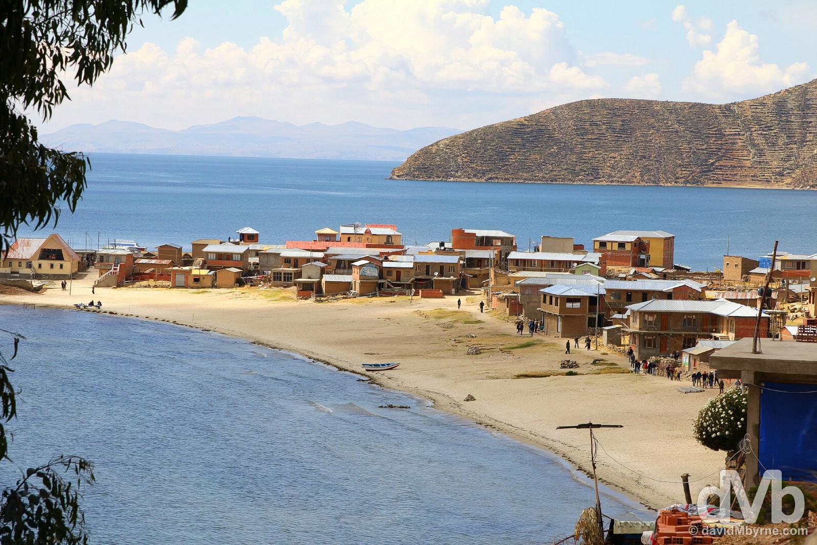 Challapampa Isla Del Sol Lake Icaca Bolivia August 24 2017
