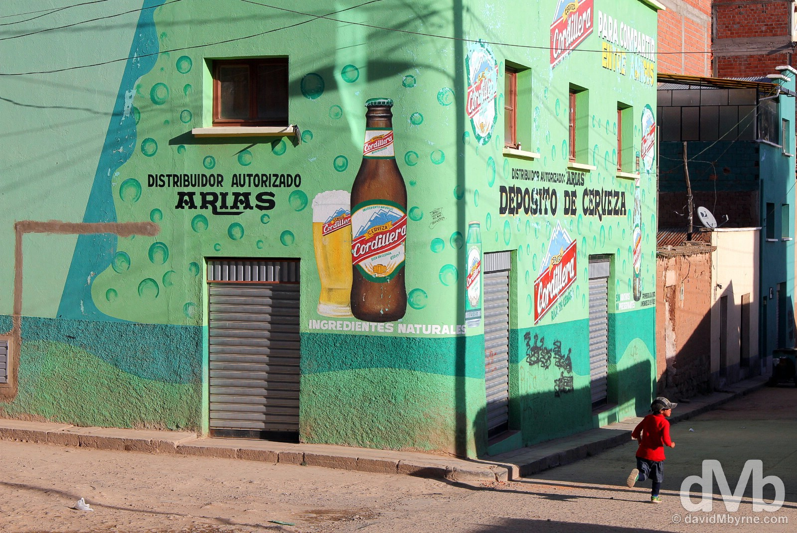 On the streets of Copacabana, Bolivia. August 23, 2015.
