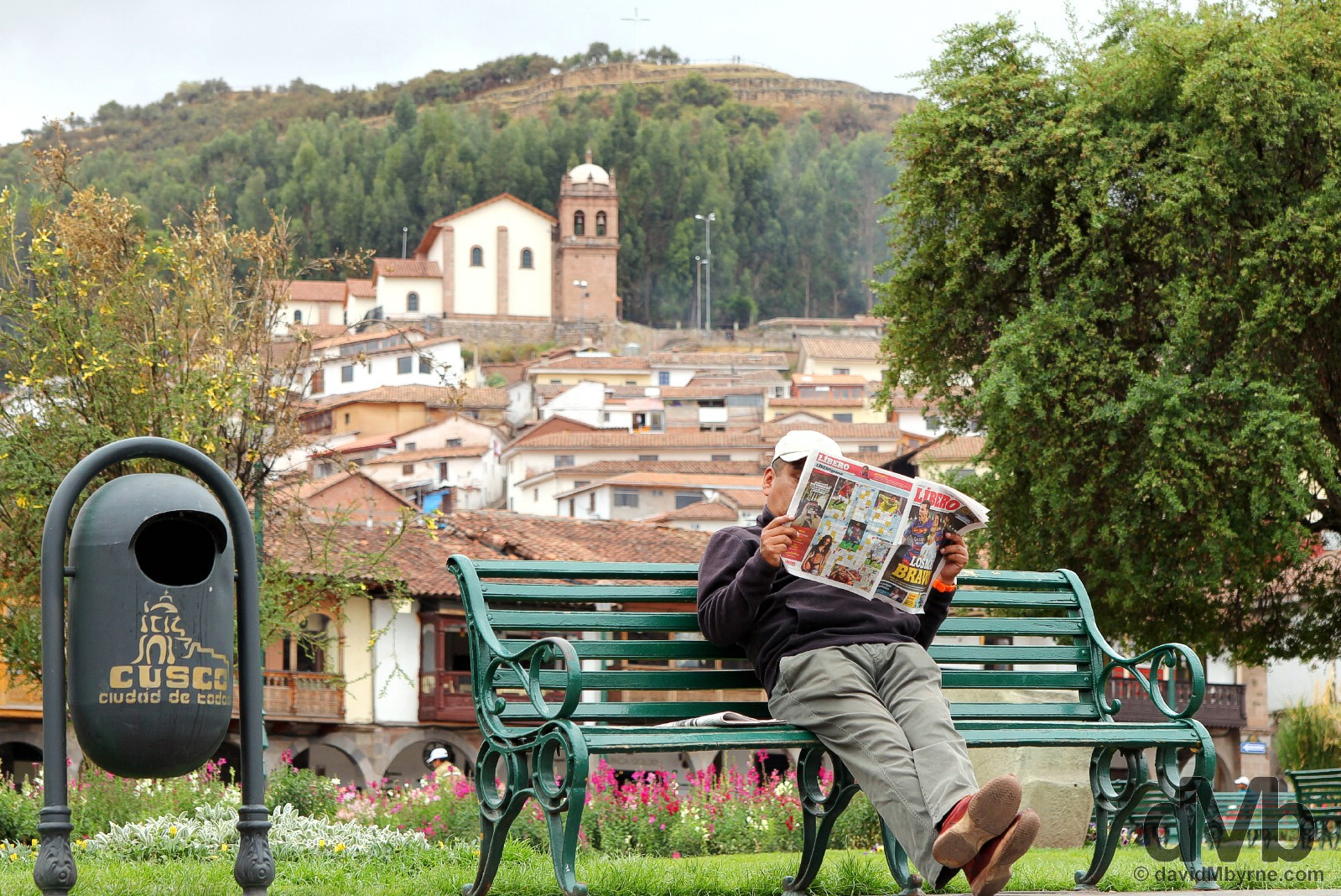 Plaza de Armas, Cusco, Peru. August 13, 2015.