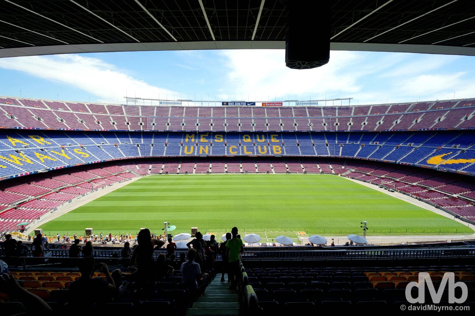Camp Nou, Barcelona, Spain. June 18, 2014.
