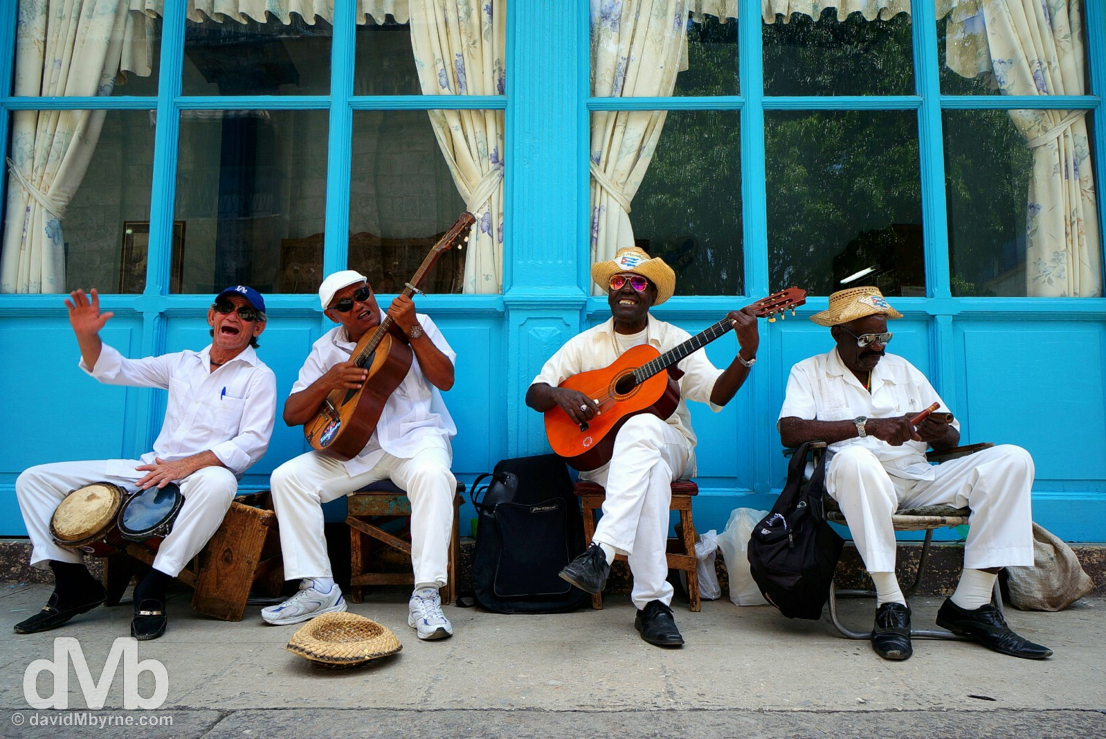 Musicians in Habana Vieja/Old Havana, Havana, Cuba. May 2, 2015.