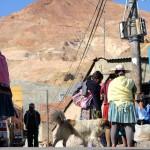 Miners market, Potosi, Bolivia. September 1, 2015.