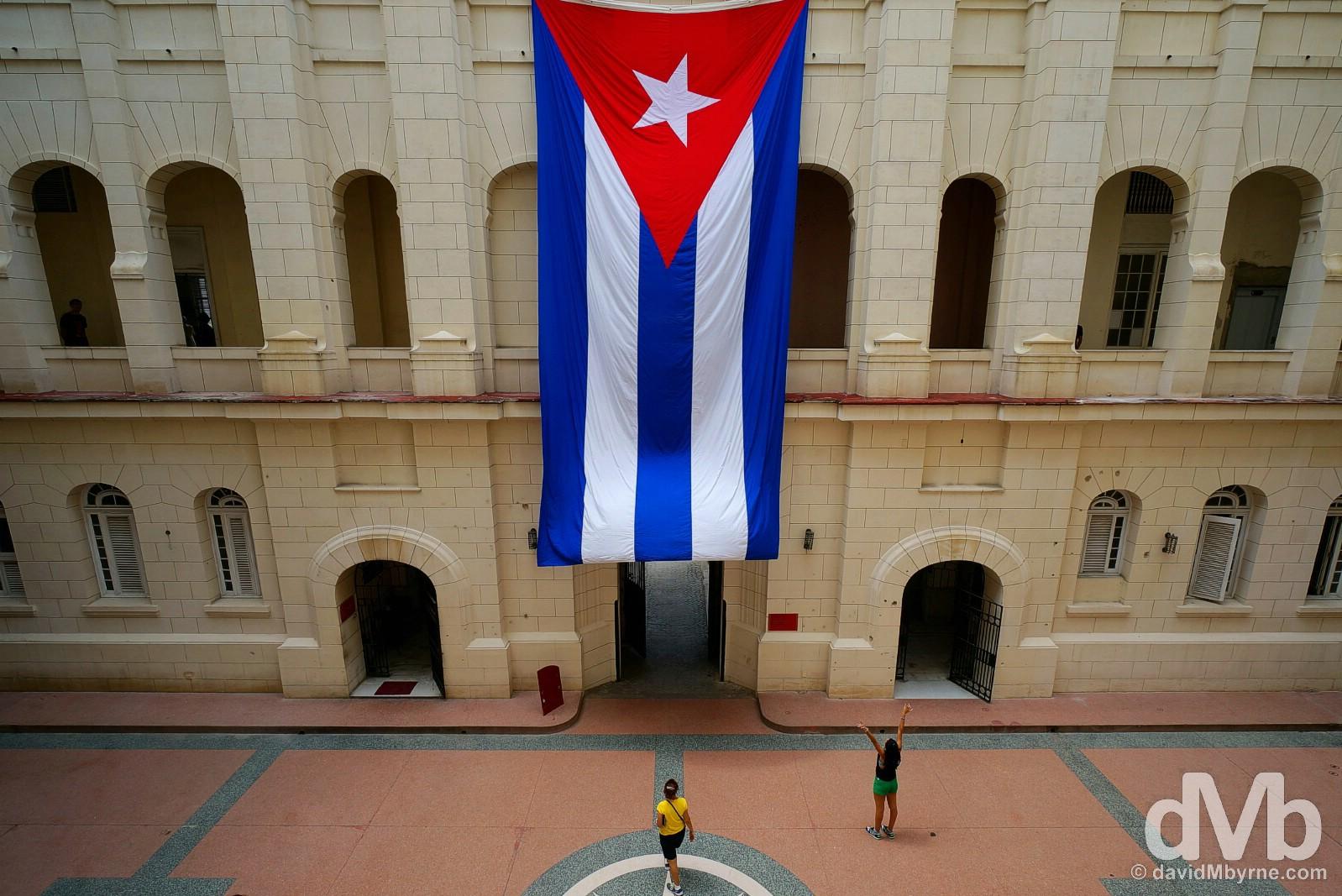 Museo de la Revolucion, The Museum of the Revolution, Havana, Cuba. May 2, 2015.