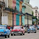 1950s Americana on Prado (Paseo de Marti) in central Havana, Cuba. April 30, 2015.
