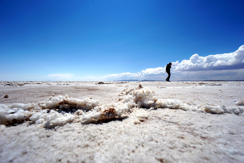 Salar de Uyuni, southern Bolivia. September 3, 2015.