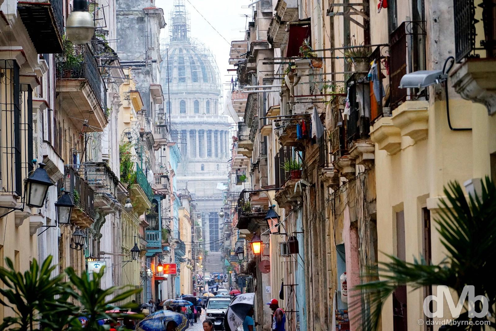 Teniente Ray, Havana, Cuba. April 30, 2015.