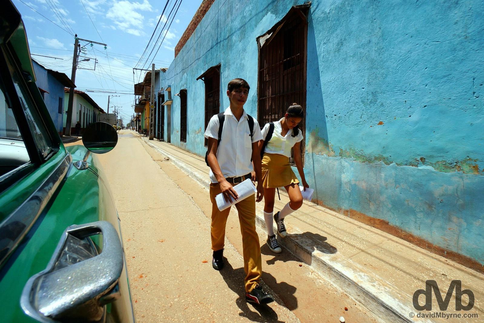 Trinidad, Cuba. May 6, 2015.