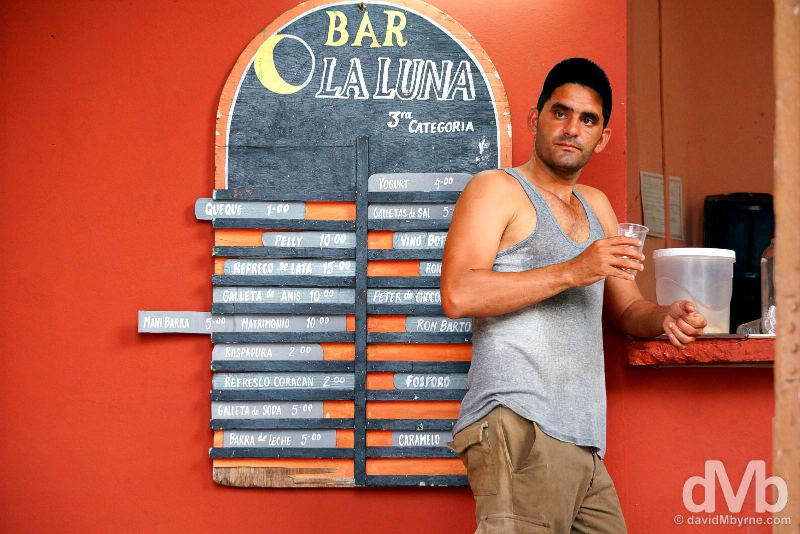 Bar La Luna, Trinidad, Cuba. May 5, 2015.