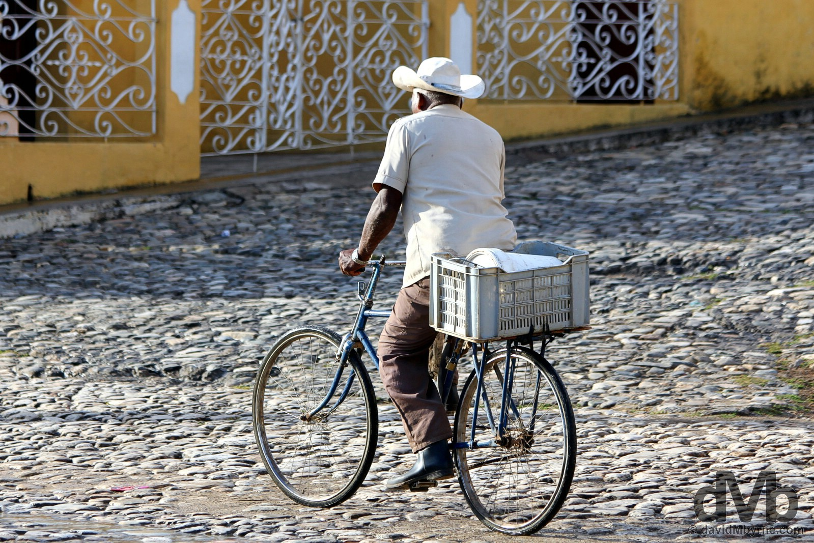 On the cobbled streets of Trinidad, Cuba. May 5, 2015.