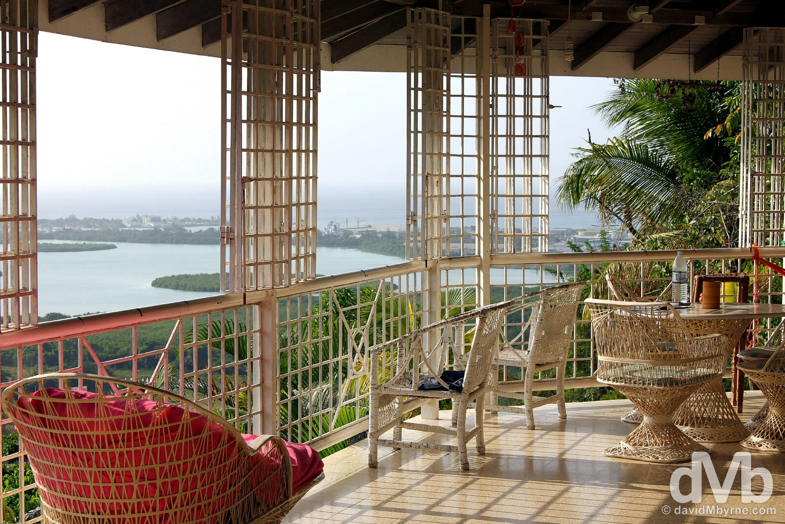 Cedar Ridge Lodge Inn, Montego Bay, Jamaica. May 14, 2015.
