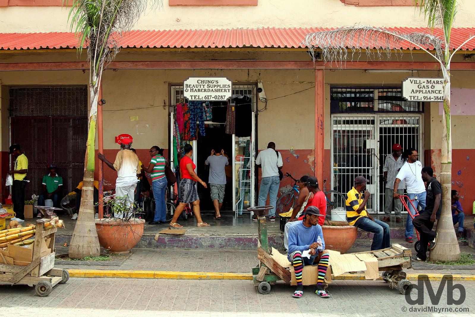 Falmouth, Jamaica. May 15, 2015.