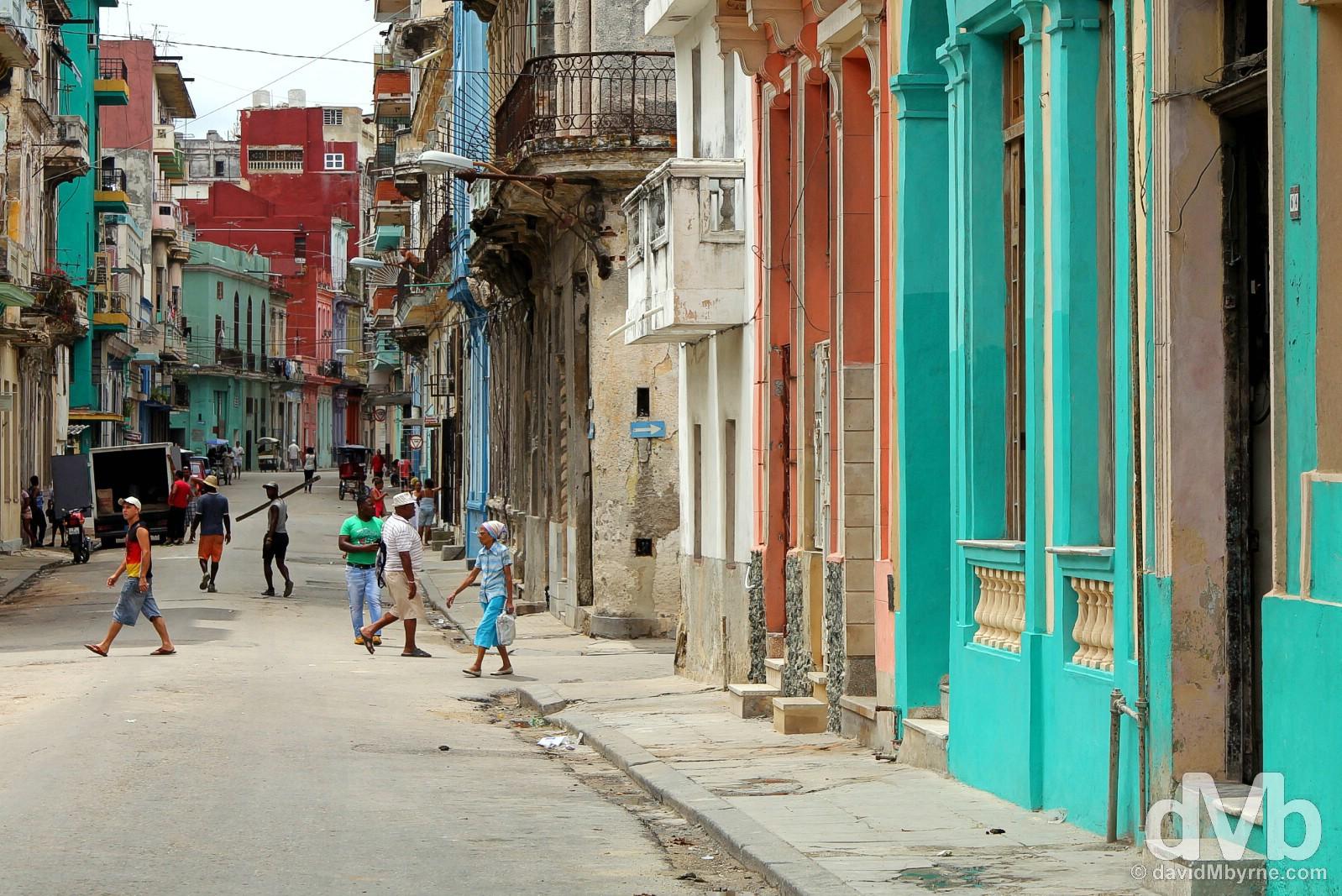 Centro Habana, Cuba. May 1, 2015.