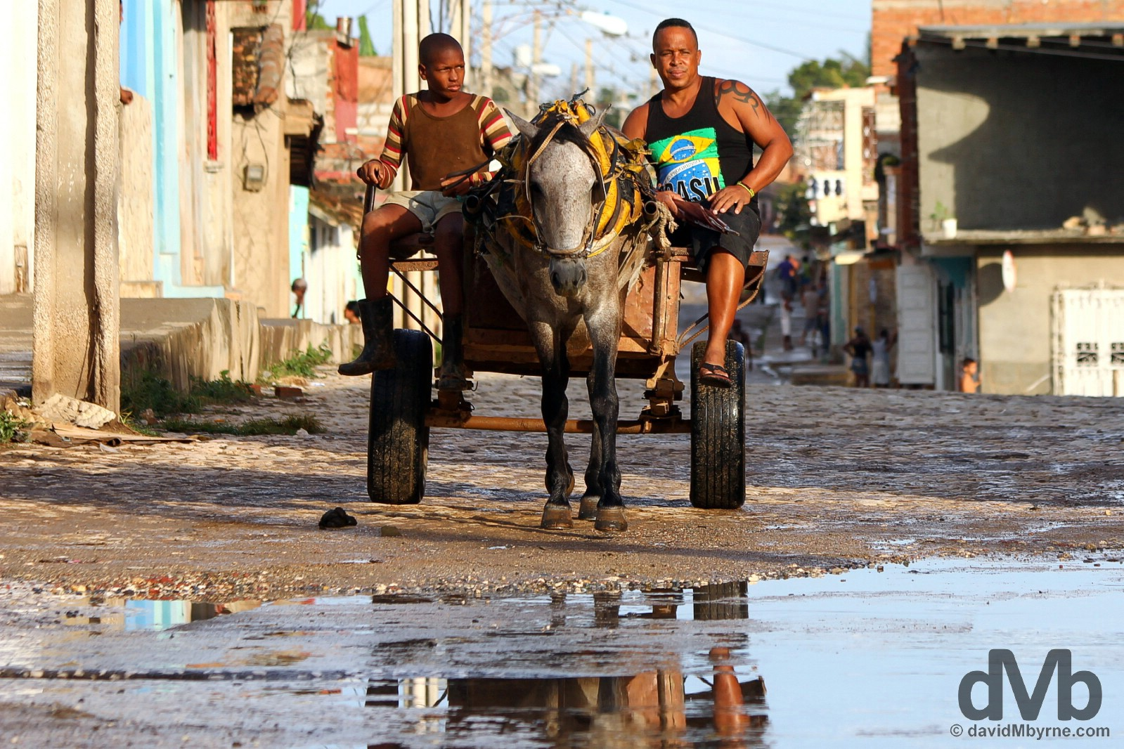 On the streets of Trinidad, Cuba. May 5, 2015.