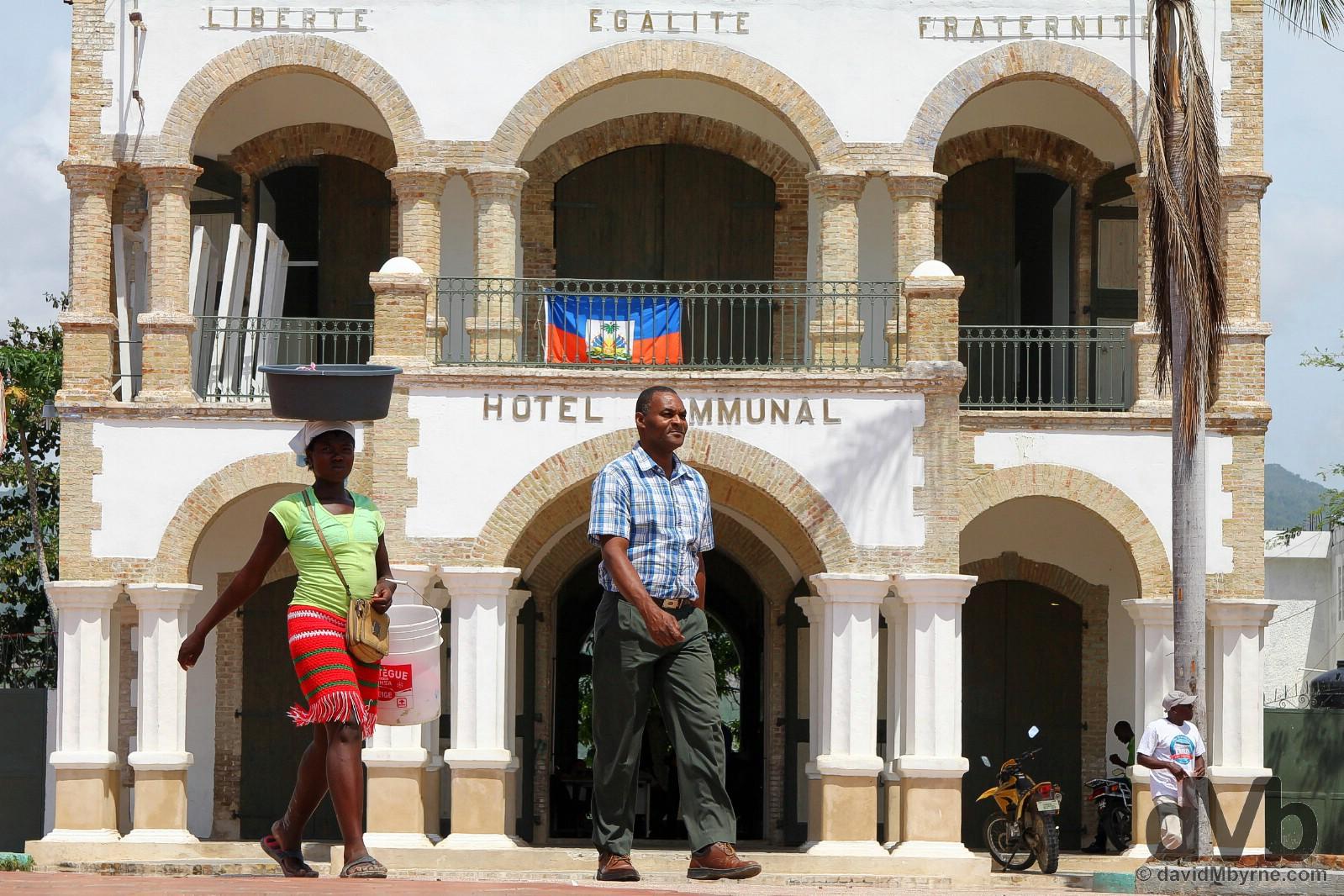 Place Toussaint L'Ouverture, Jacmel, southern Haiti, Hispaniola, Greater Antilles. May 20, 2015.